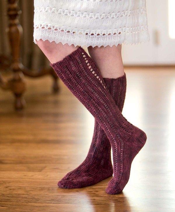 Bon Vivant Stockings Crochet Pattern Download #slipstitch