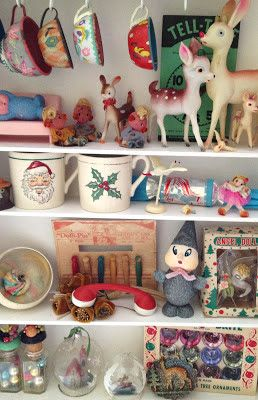 Vintage by Crystal: A visit to Magpie Ethel - such a fabulous collection of kitsch novelties...