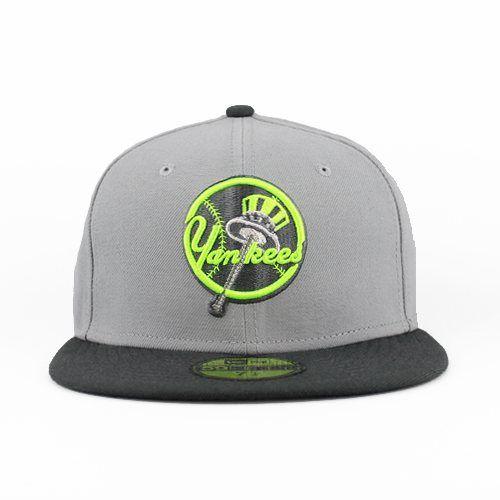 24bcf0e16e2 New York Yankees Gray   Neon 59fifty