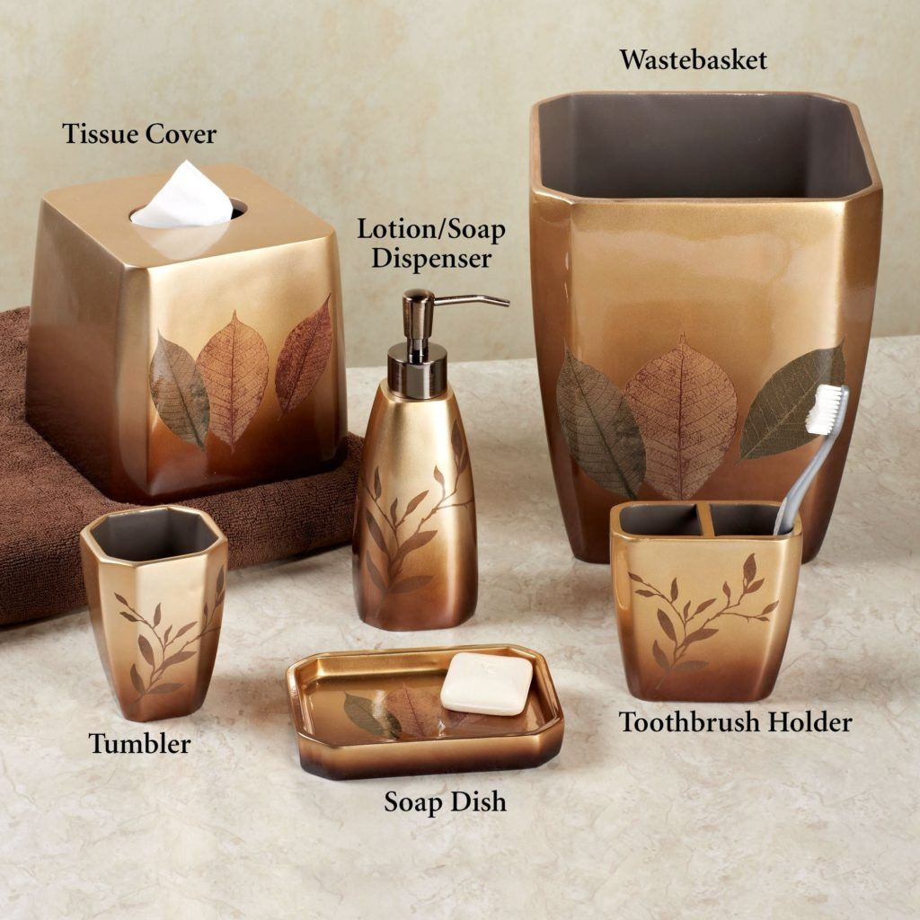 Leaf Bathroom Accessories