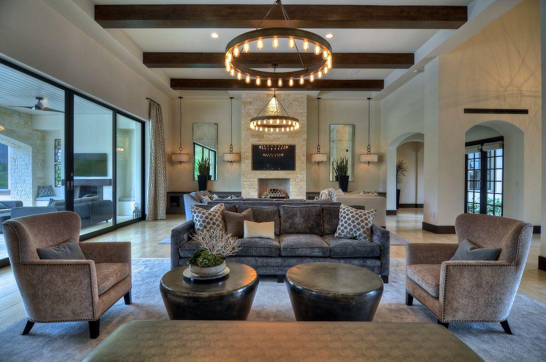 Schönes innenarchitektur wohnzimmer havens south designs  loves good pendant lighting  hs design