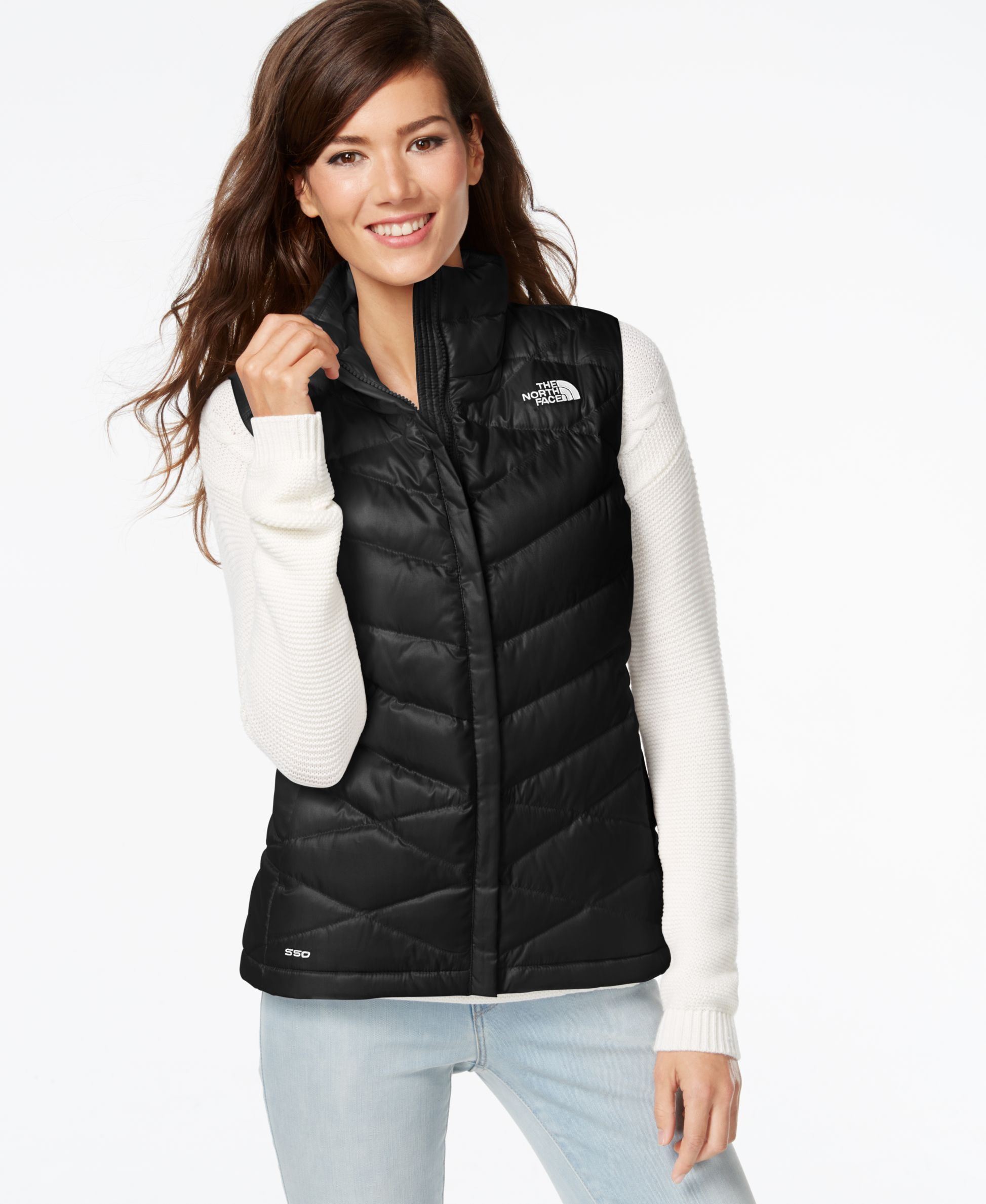 e8faa3adce The North Face Aconcagua Puffer Vest - Coats - Women - Macy s Black North  Face Vest