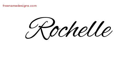 6f4cfa69f6827 Cursive Name Tattoo Designs Rochelle Download Free – Free Name ...