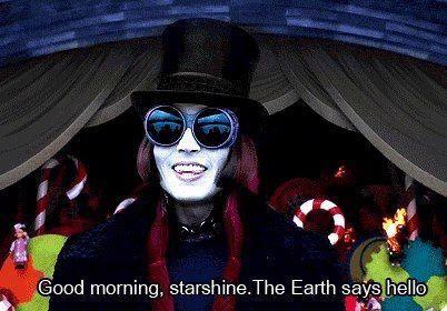 Good Morning Starshine The Earth Says Hello Johnny Depp Johnny Johnny Depp Movies