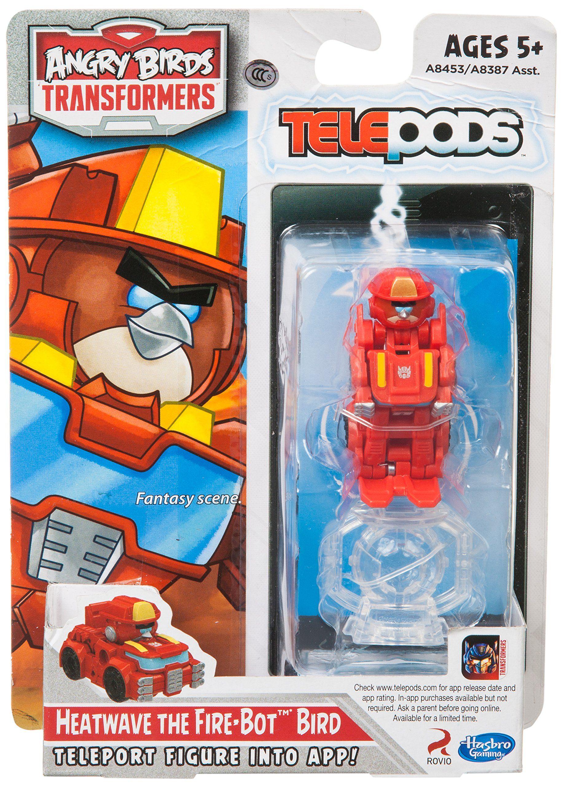 Angry Birds Transformers Heatwave the Firebot Bird Figure
