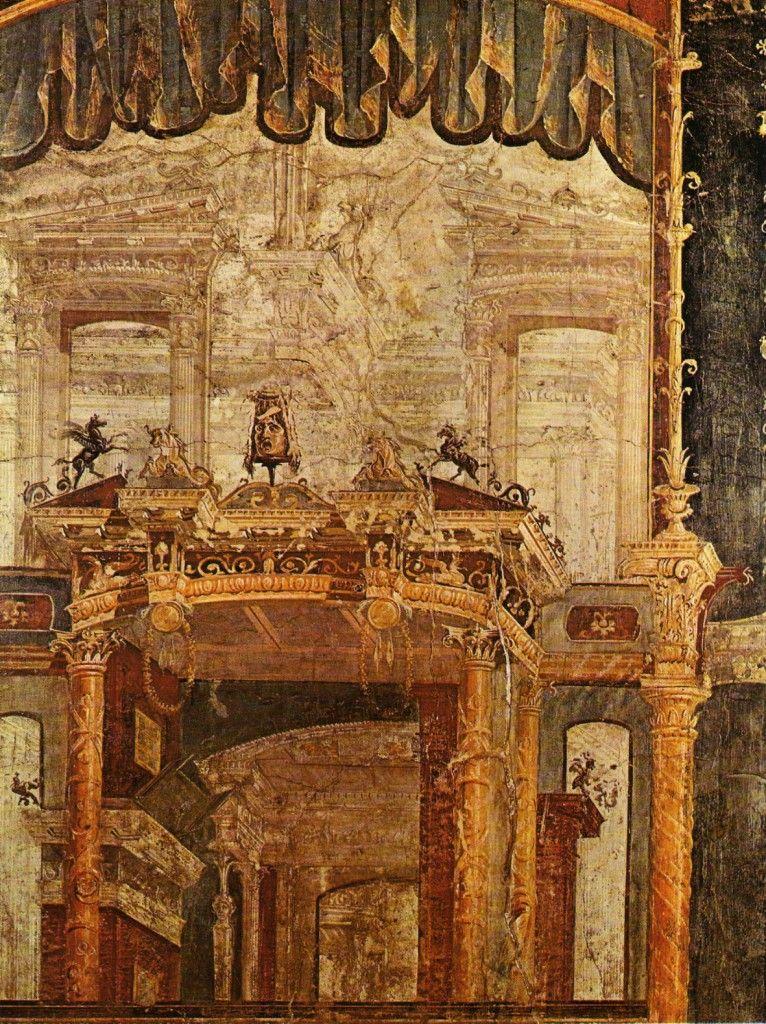 La peinture murale domestique dans la Rome antique | Fresco, Oudheid, Romeinen