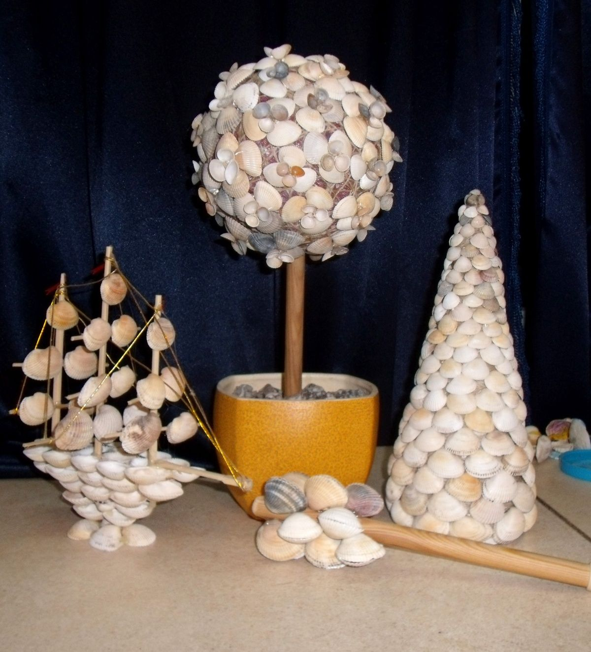 Conchas de mar buscar con google manualidades con - Manualidades con conchas ...