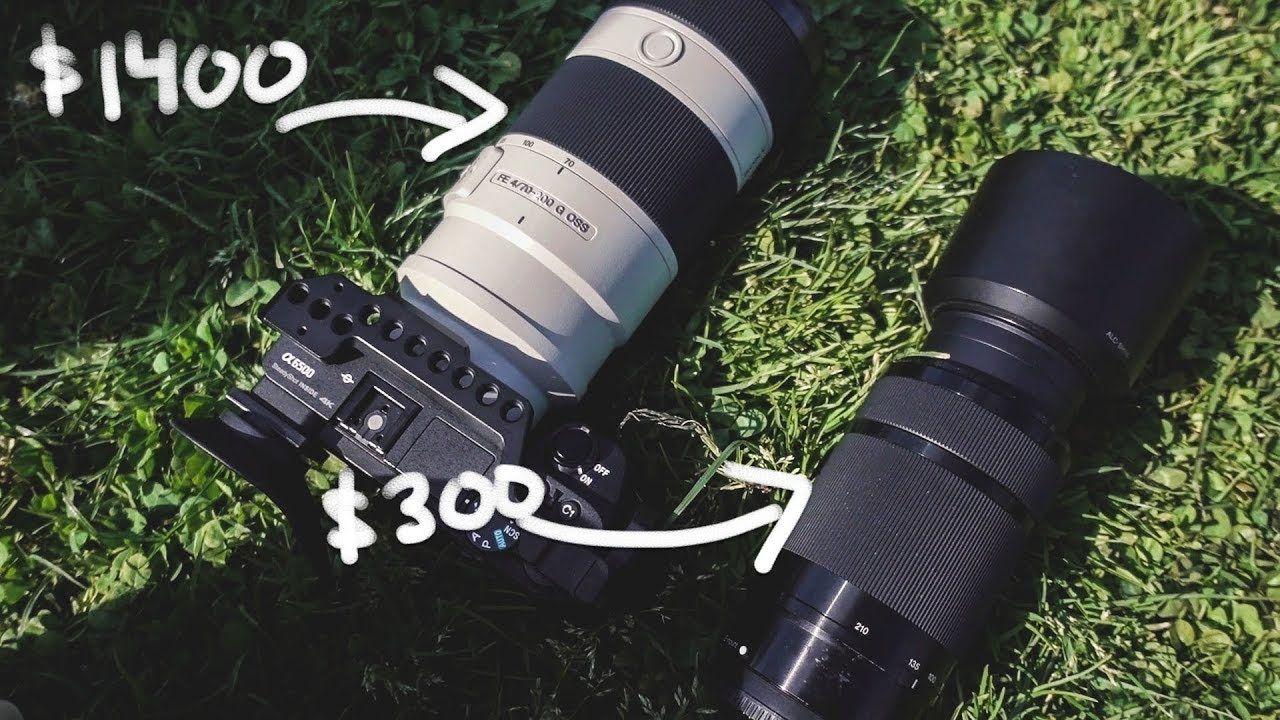 Which One Sony 70 200 F4 G Oss Vs Sony 55 210 F4 5 6 3 Oss Sony 55 Camera Photography Sony