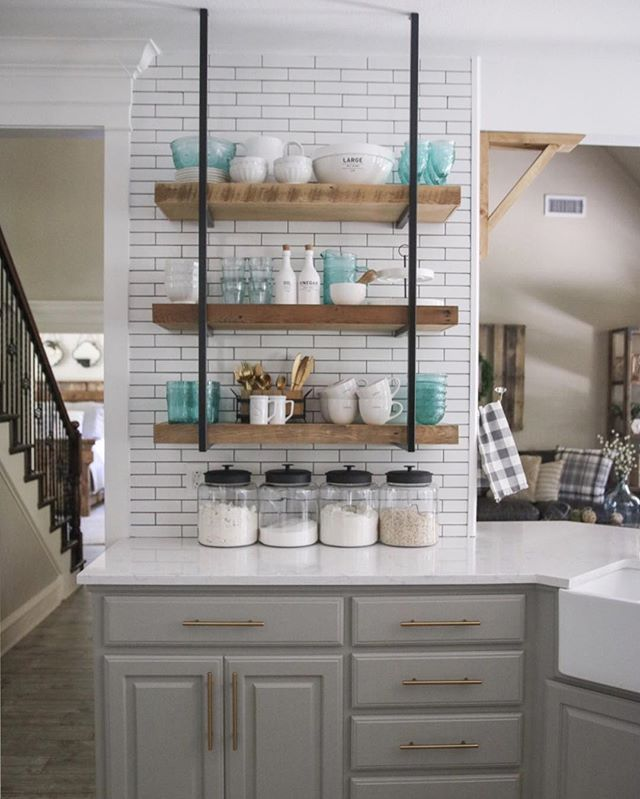 Dorian Green Counter Top Kitchens