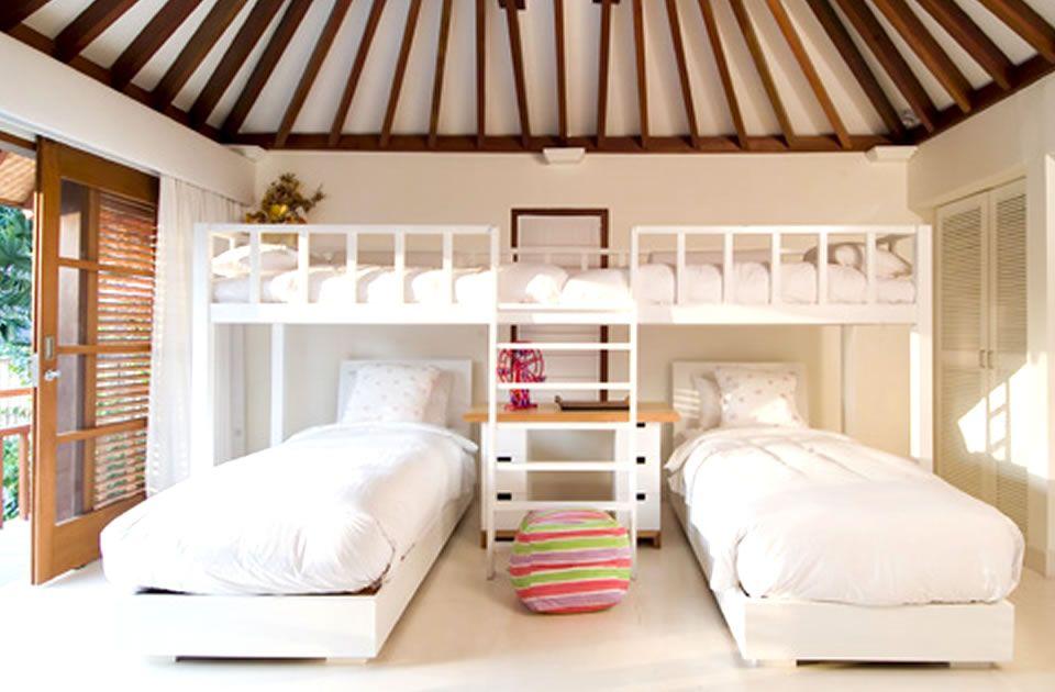 Modern Balinese Children Bedroom Interior Design of Villa