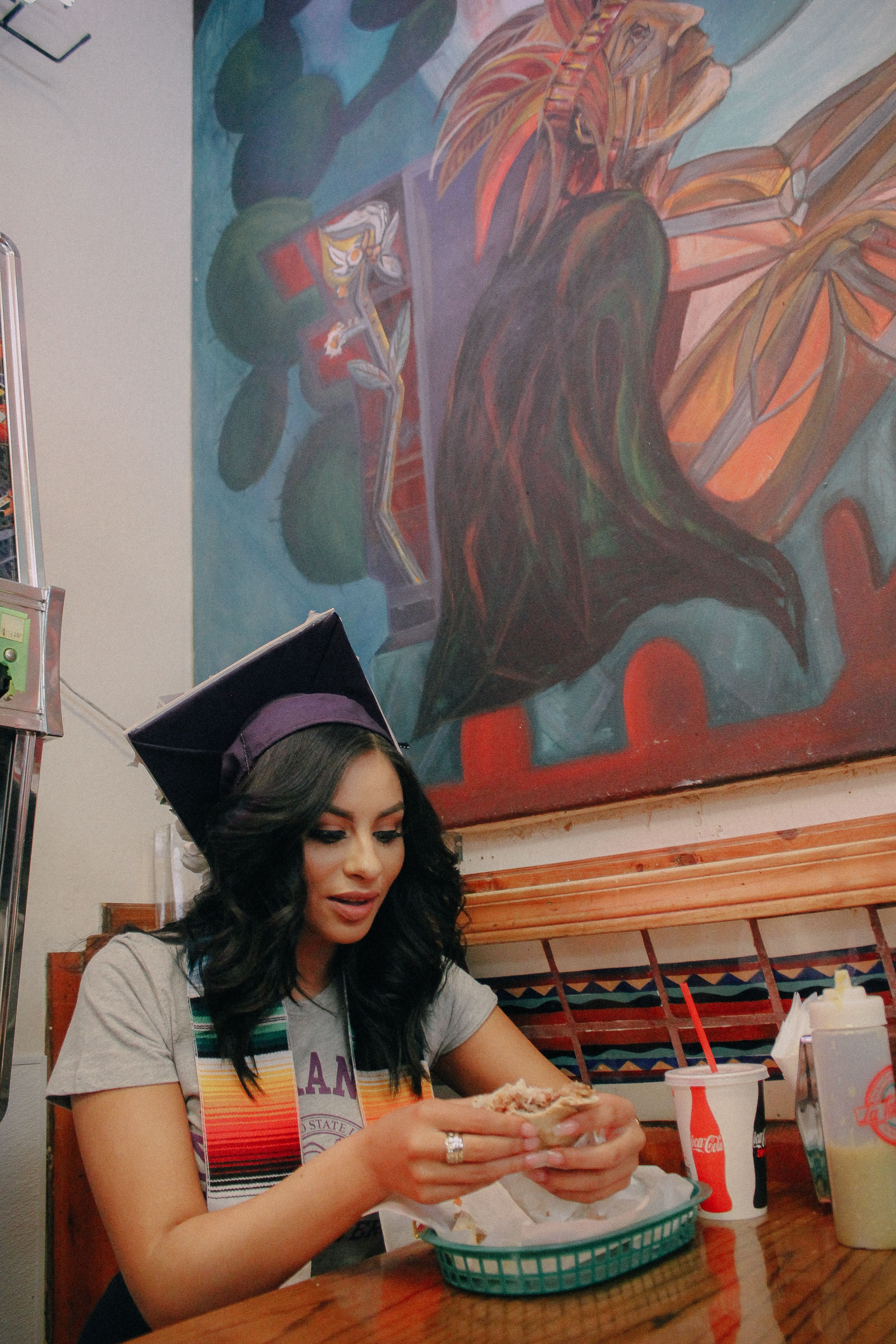 Mexican Graduation Session in San Francisco, California