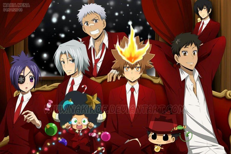 Merry Christmas ~ Katekyo Hitman Reborn. | Katekyo Hitman Reborn ...