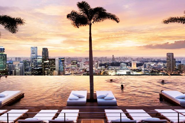 The World S Most Epic Infinity Pools Sands Hotel Singapore Cool
