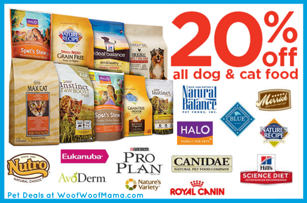 20 Discount On All Dog Food And Cat Food W Petco Promo Code Woof Woof Mama Food Animals Dog Food Recipes Food