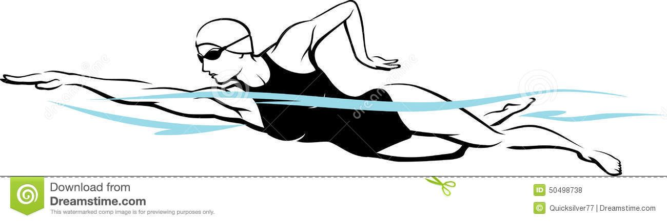How To Draw A Swimmer Doing Butterfly