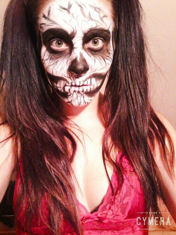 Halloween makeup Monster girl