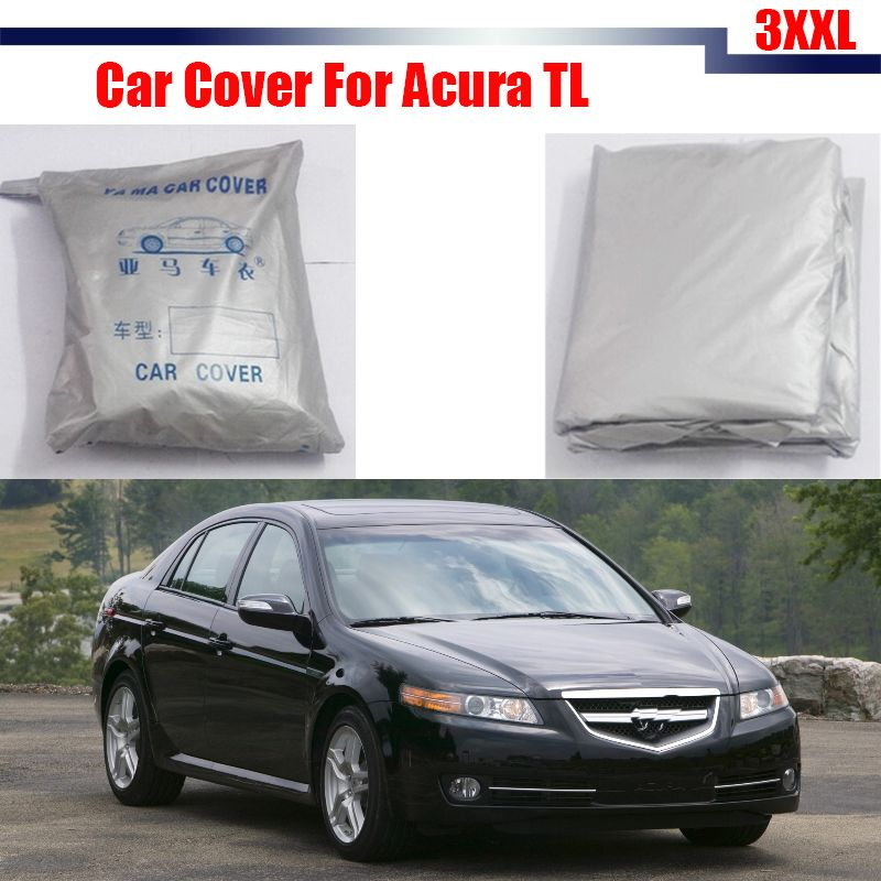 Cawanerl Car Cover Anti-UV Rain Snow Sun Resistant