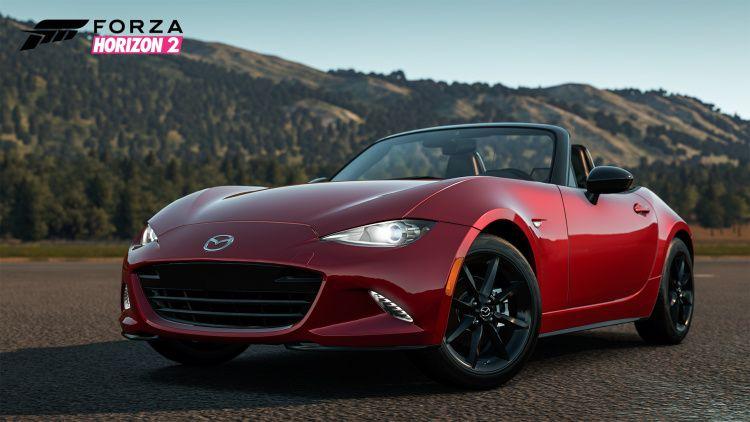 2016 Mazda Mx 5 Miata To Make Video Game Debut Next Week In Forza Horizon 2 W Video Mazda Mx5 Mazda Mx5 Miata Porsche Cabriolet