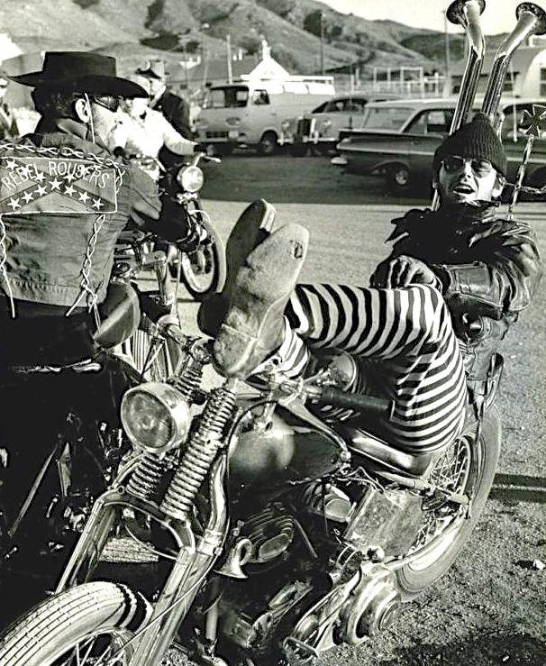 N°18 - Jack Nicholson as Bunny (1970) - The Rebel Rousers (Les Motos de la violence) by Martin B. Cohen
