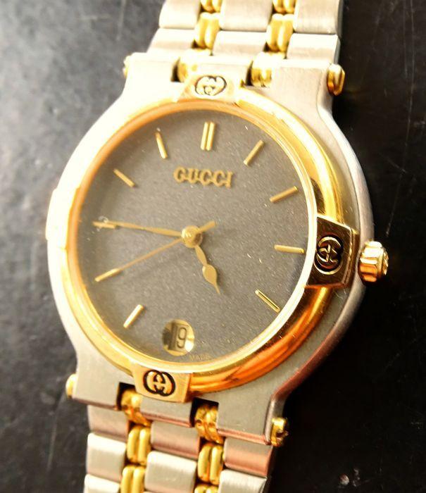 5cca07a0c0a Gucci 9000M - unisex horloge Stijlvolle ontwerper elegante unisex  horlogevan de Zwitserse modehuis GUCCIPerfecte kwaliteit en