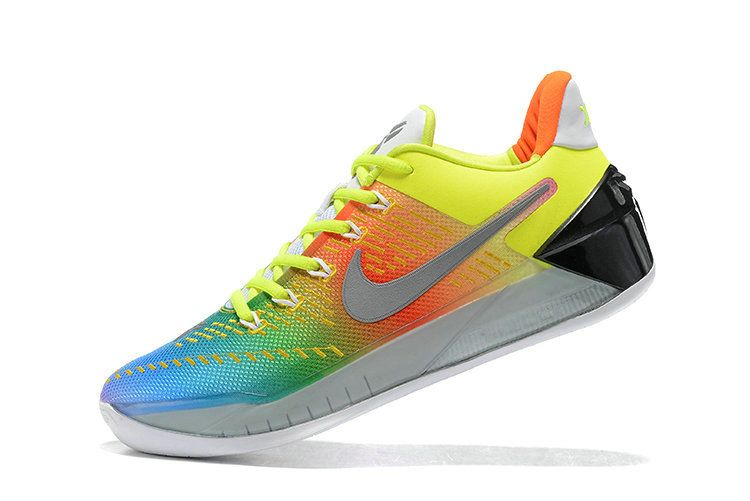 detailed look d6d26 c124f New 2018 2016 New Style Kobe AD Rainbow Multi Color