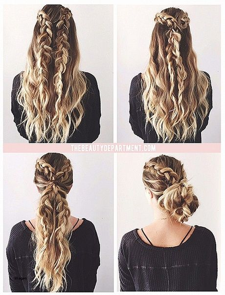 Simple Updos For Long Thick Hair New Hair Styles Ideas Fletninger Har Og Skonhed Frisorer