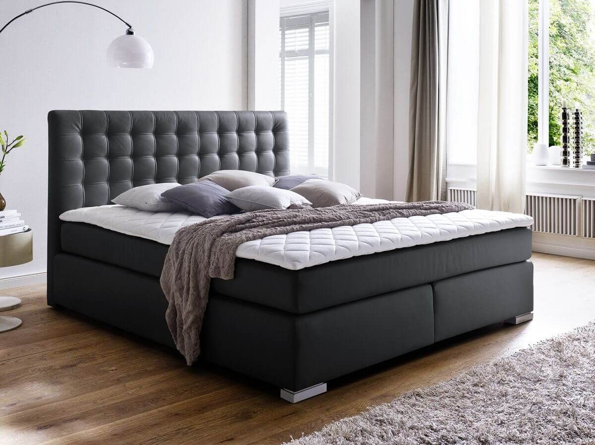 How Much Space Do You Need For A King Size Bed Leather Bed Master Bedroom Furniture Bed Springs