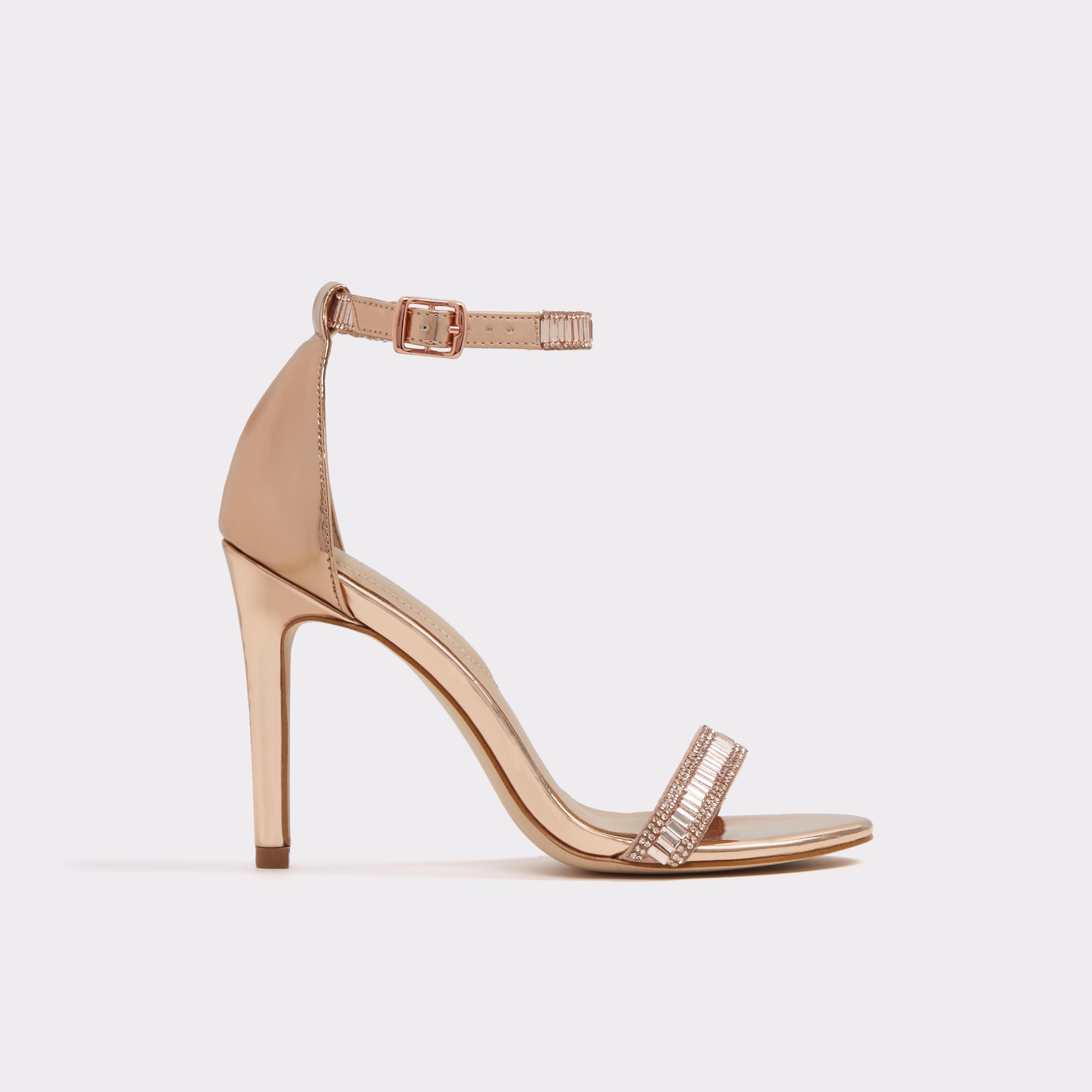 Bridal Shoes Aldo: Sevoredia_ Metallic Misc. Women's Open-toe Heels