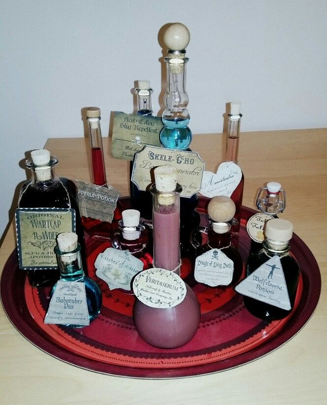 Zaubertränke/ Aperitif   Harry Potter Dinner   Pinterest
