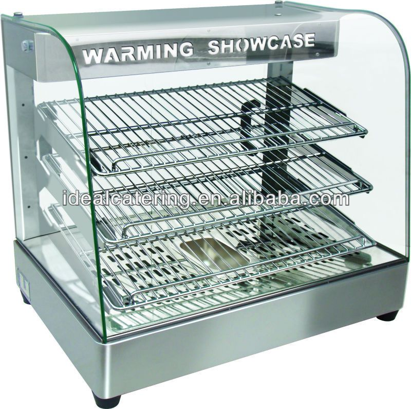 Alibaba Hot Sale Hot Food Warmer Display Showcase Ce Approval