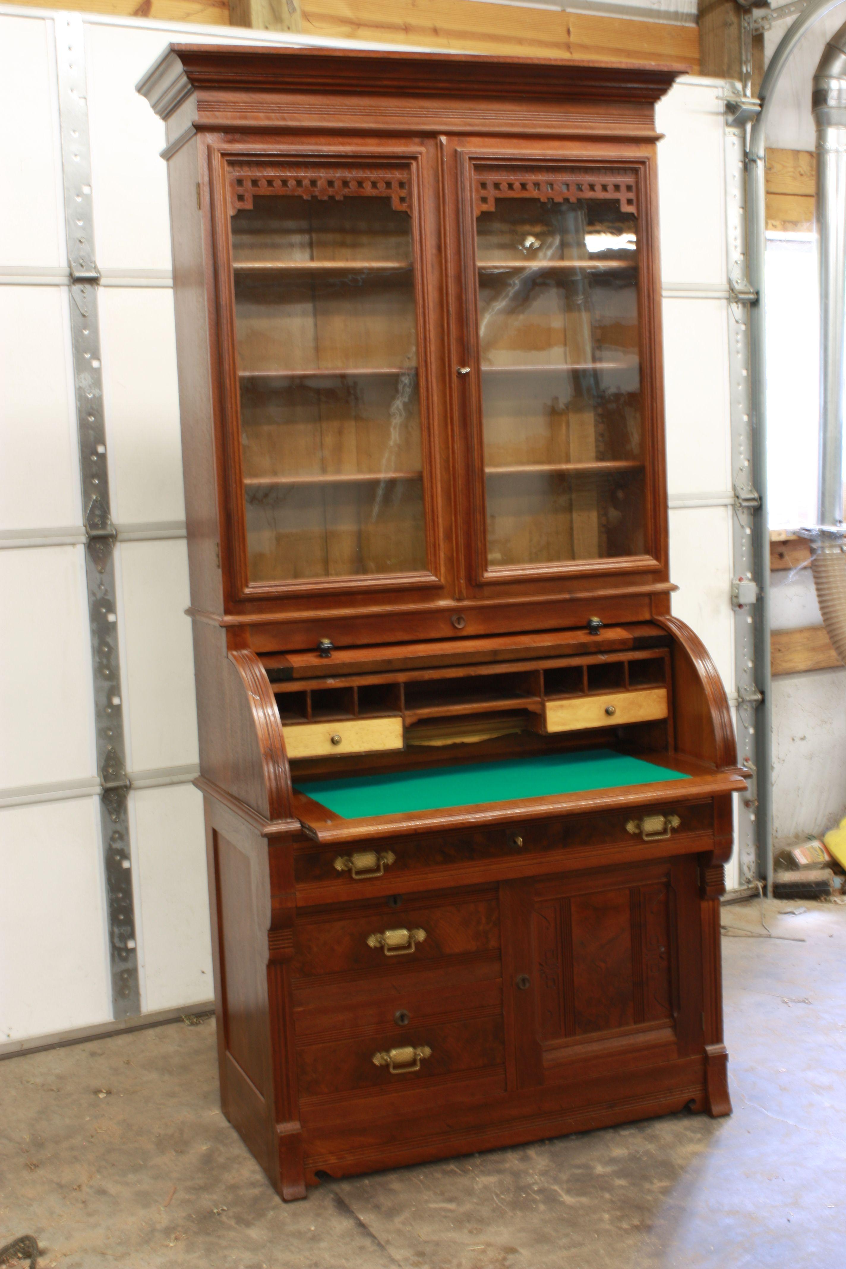 Eastlake Furniture Eastlake Cylinder Desk Home