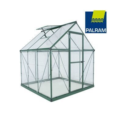 Palram Nature Series Hybrid Hobby Greenhouse - 6 x 6 x 7