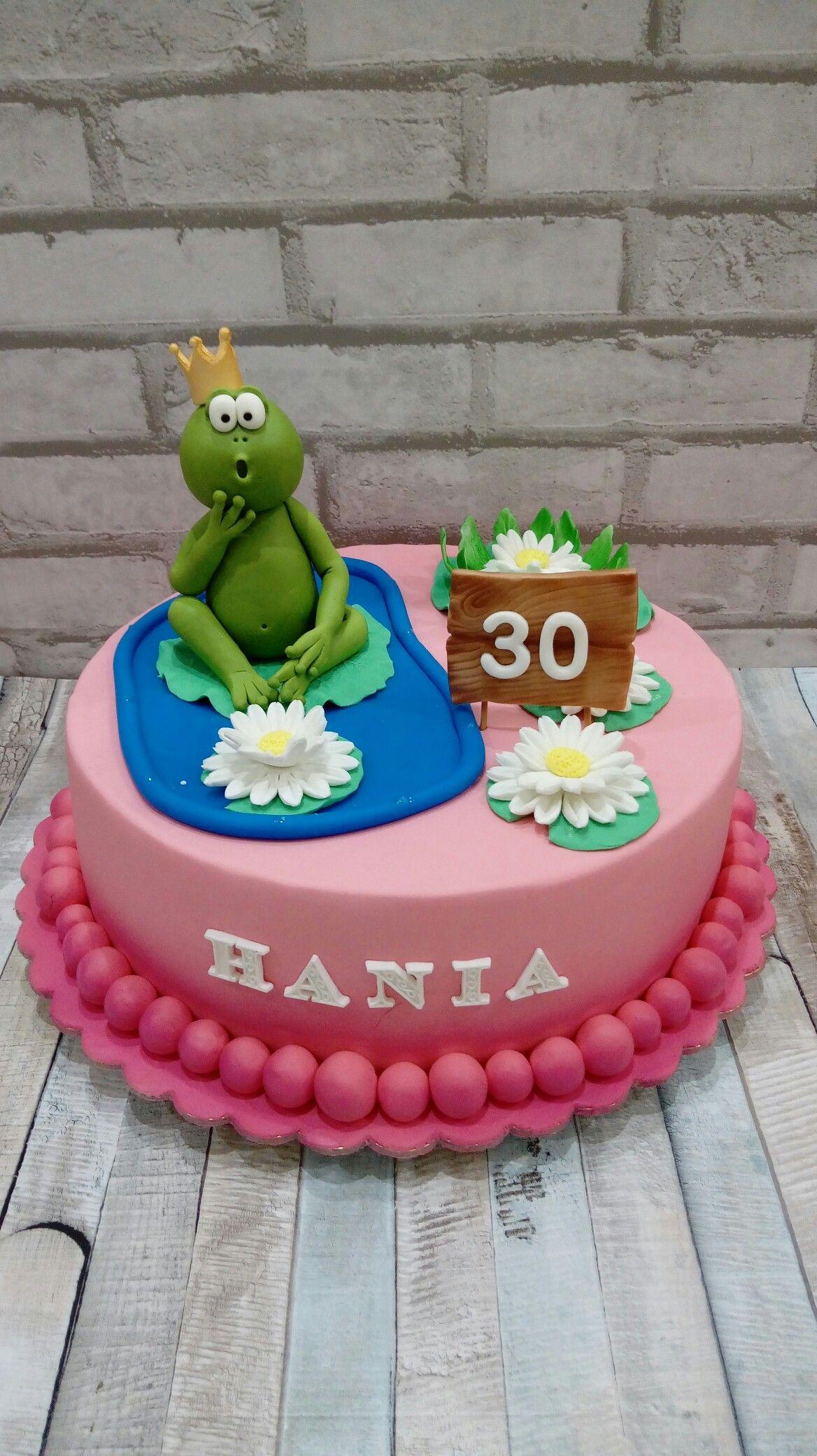 Tort Na 30 Urodziny Z Zaba Pomysly Urodzinowe Tort 30 Urodziny