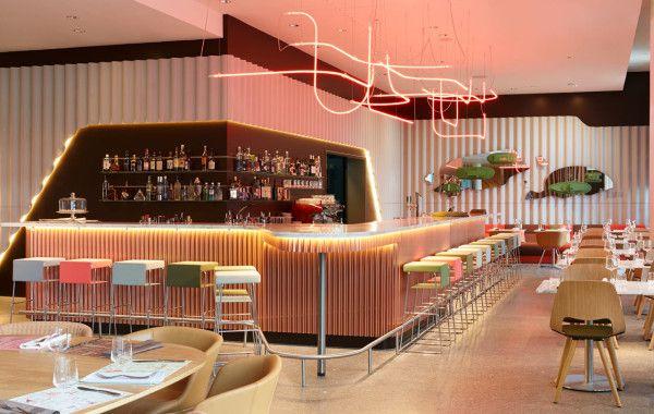 Cafeteria moderna interior buscar con google coffe for Cafeterias modernas