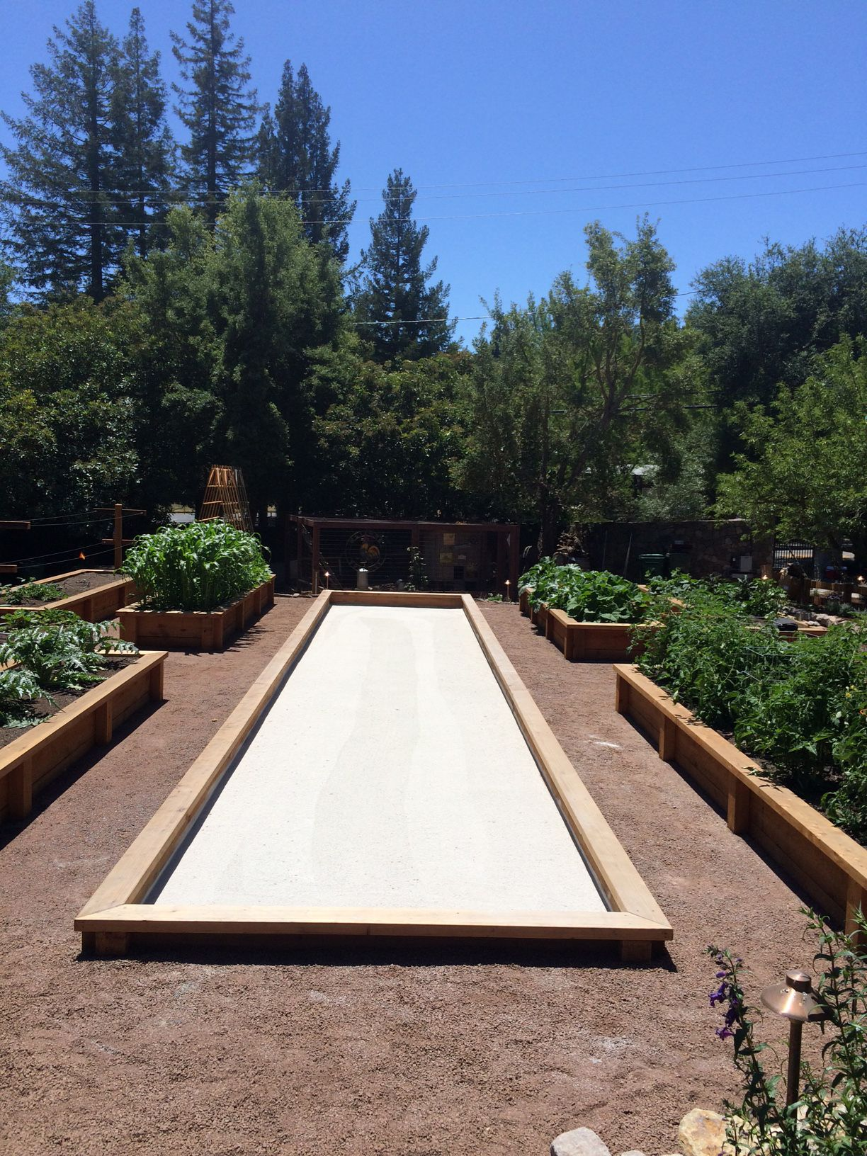 Residential Bocce Ball Courts Designed And Constructed By Bocce