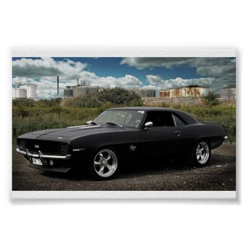 1969 chevrolet camaro ss poster | Zazzle.com
