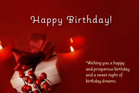 Wish your friends and dear ones a very Happy Birthday with these – Greetings for Birthday Cards