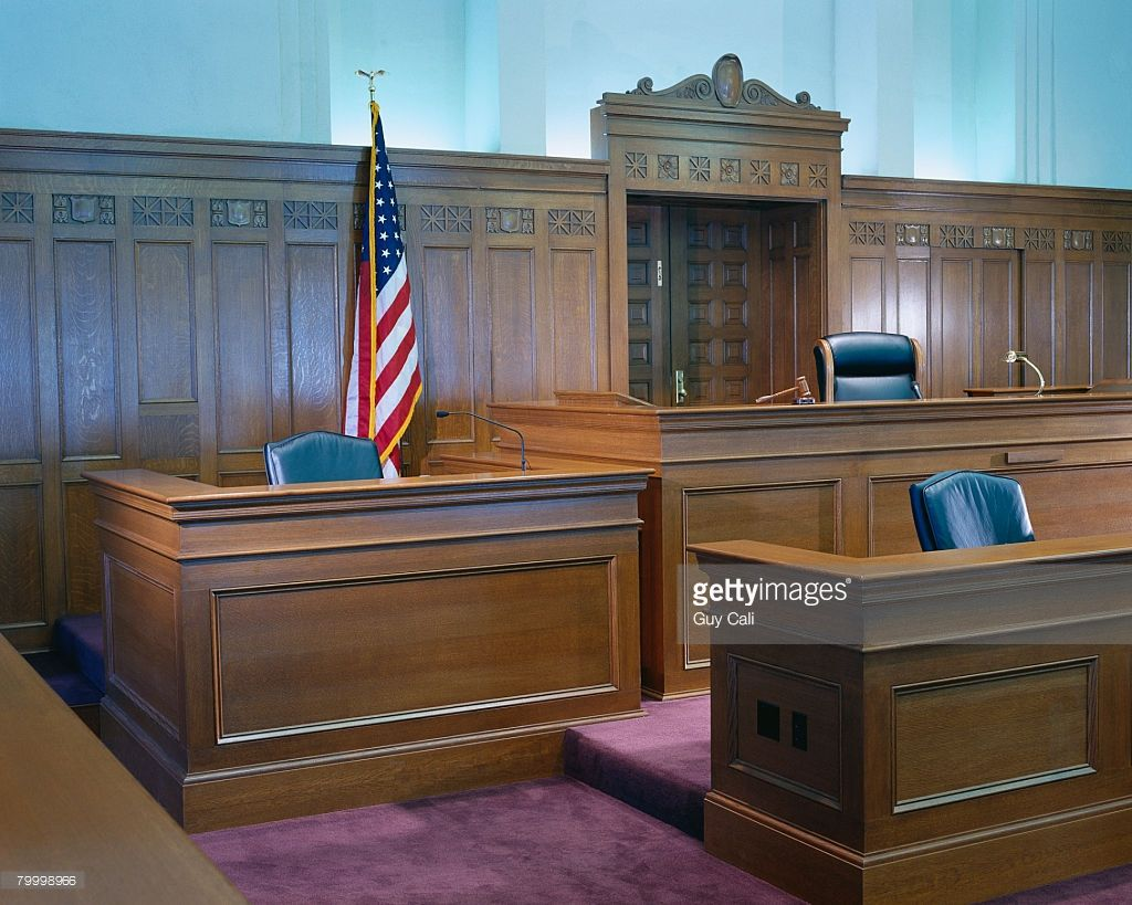 Witness Stand and Judge's Bench Catonsville Reference in