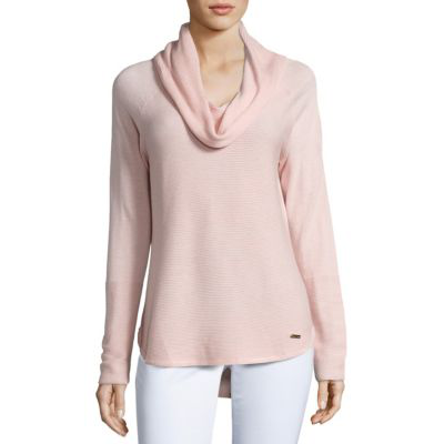 For the John Lewis Primrose Pink Cashmere Cowl Neck Tunic ...