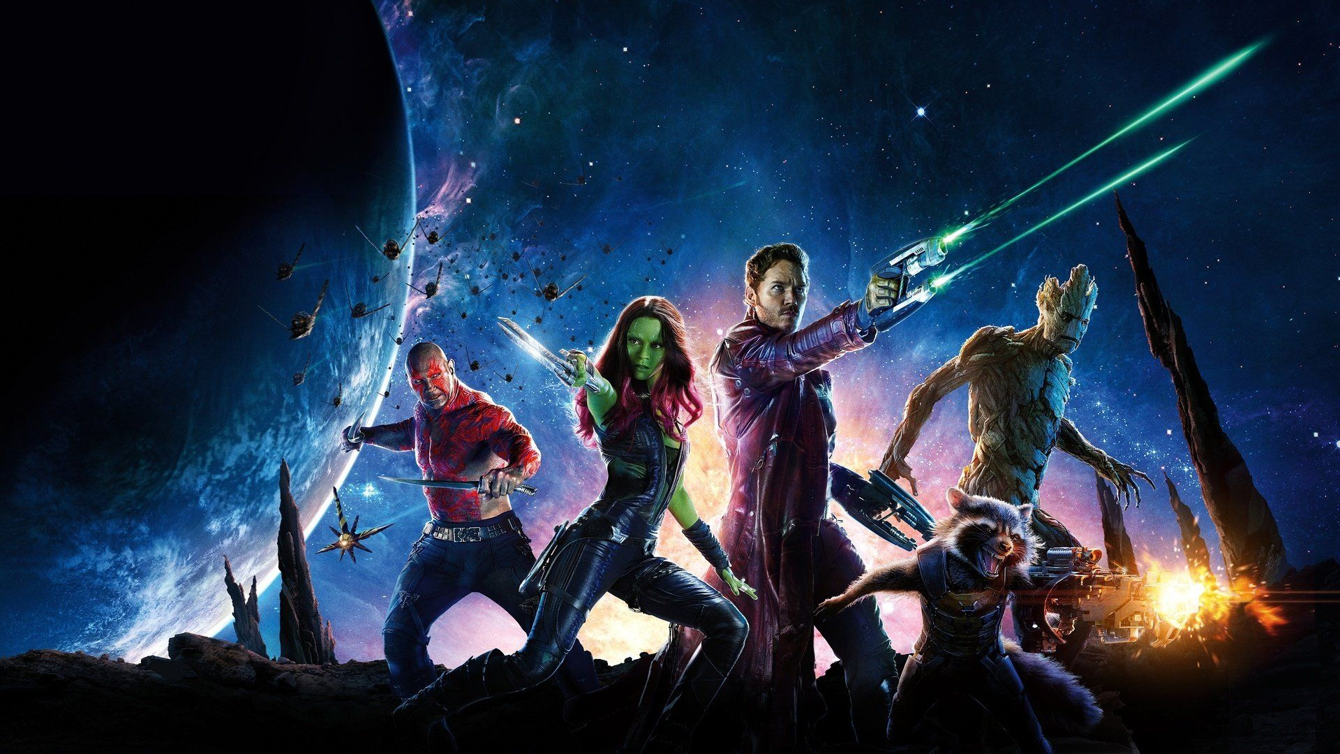Guardians of the Galaxy wallpaper.