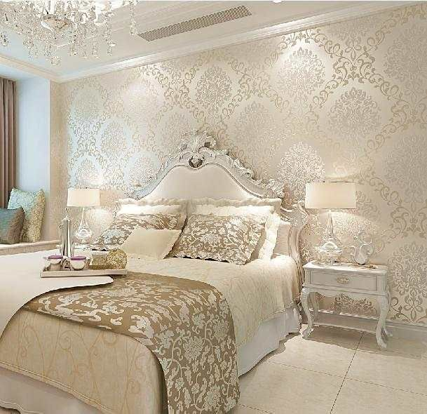 3D Walls Wallpaper Rolls Photo Wall Paper Luxury Europe Vintage for Living Room Home Decor DAMASK Floral papel de parede Rolo is part of Luxurious bedrooms -