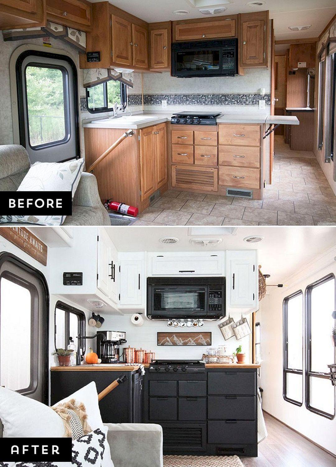 8 Best Camper Van Hacks Makeover Remodel And Renovation Ideas
