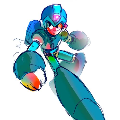 Megaman X Tumblr Mega Man Art Mega Man Fighting Robots
