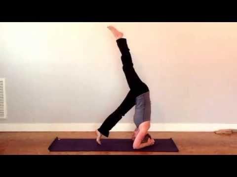 mat matters yoga videosepisode 2 bound headstand www