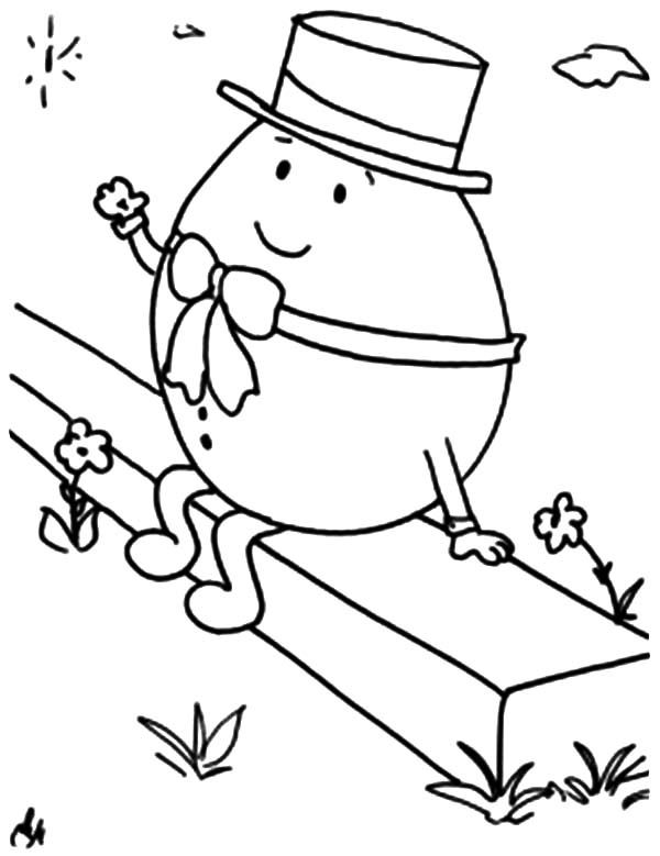 Humpty Dumpty Coloring Pages: Humpty Dumpty Coloring Pages ...