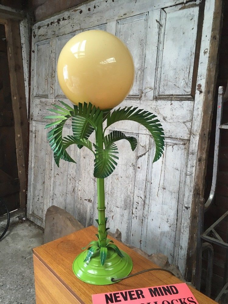 Multi layered vintage 1960s70s table lamp