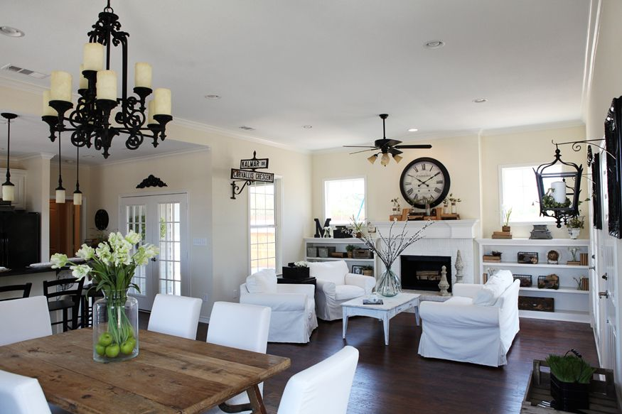 1000 images about Open concept on Pinterest Magnolia homes
