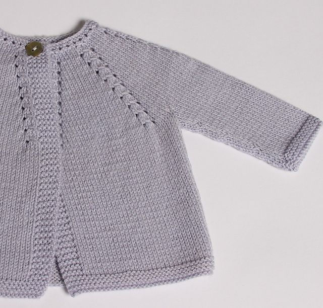 7fb4e1d9e Ravelry  Cardigan for baby pattern by Florence Merlin