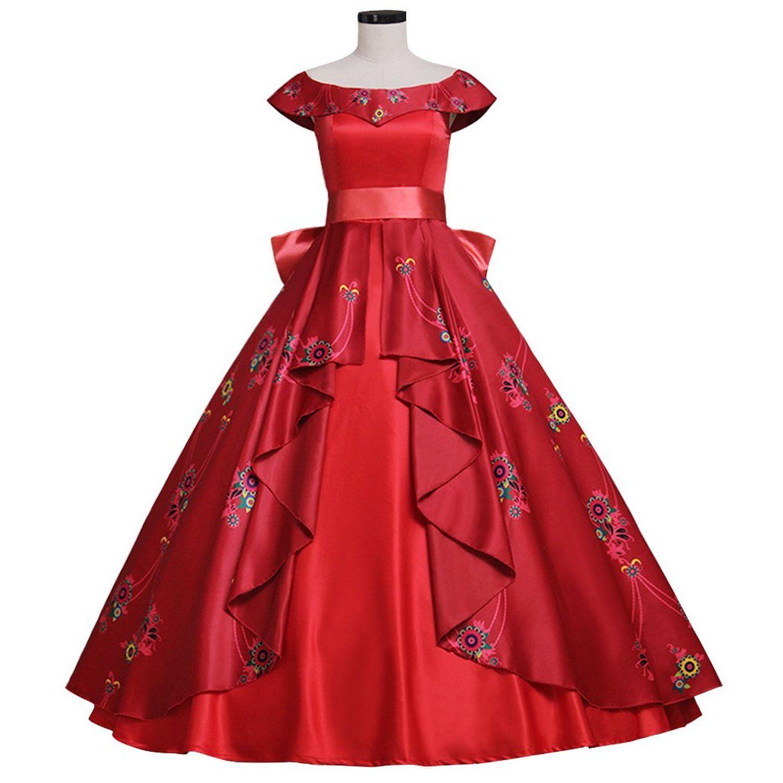 2617b627c93a Amazon.com: CosplayDiy Women's Dress for Elena of Avalor Princess Elena  Cosplay Adult: Clothing