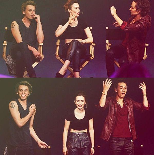Jamie, Lily, and Robbie